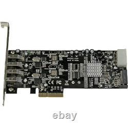 Startech. Com 4 Port Dual Bus Pci Express pcie Superspeed Usb 3.0 Card Adapter