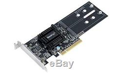 Synology Dual M. 2 SSD Adapter Card for Extraordinary Cache Performance (m2d18)