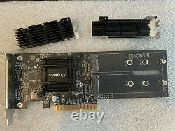 Synology M2D18 Dual M. 2 SSD adapter card (SSD cache adaptor)