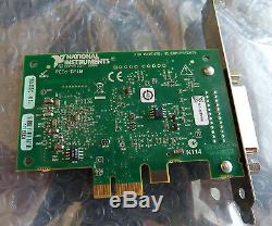 Tested National Instruments NI PCIe-GPIB IEEE 488.2 Adapter Card 198405C-01L