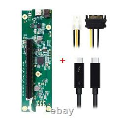 Type-C Thunderbolt 3 to PCI Express PCI-E 16x Desktop Graphics Card 40Gbps Cable