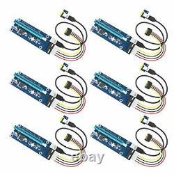 USB 3.0 PCI-E Express 1x To 16x Extender Riser Card Lot Adapter Power 24pin ATX