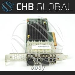 00wy983 2145-ah14 4 Port 16gb Fc Adapter Card 01ac485 16 Go Fc Sfp's Af44 Ac2