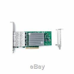 10gtek Pci E Nic Carte Réseau Quad L710 Sfp + Port Express Ethernet Lan Adapter