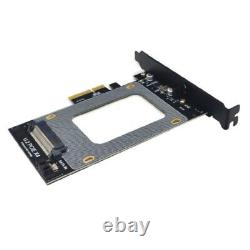 10xu. 2 Pci-e Adaptateur Card U. 2 Adaptateur Card Sff-8639