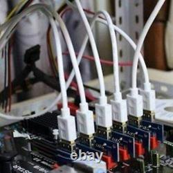 20pack Pci-e 1x À 16x Alimentation Usb3.0 Gpu Riser Carte Adaptateur Ver 009s