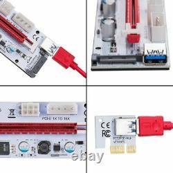 30x (usb 3.0 Pcie Pci-e Express 1x To 16x Gpu Extender Riser Card Adaptateur F6y5)