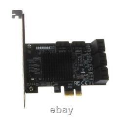 9215+575 Chip 8 Ports SATA 3.0 À Pcie Carte D'extension Adaptateur Pci Express SATA