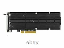 Adaptateur D'interface Synologie M. 2 Nvme Card Pcie 3.0 X8 Pour Synology Sa3400 M2d20