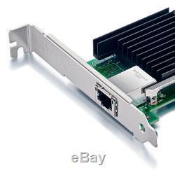 Adaptateur Réseau Convergé Pcie Intel X540-t1,10gb, Carte De Port Rj45 À Carte Réseau Unique 10 GB
