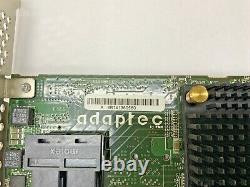 Adaptec Asr-7805q 1g Cache Pcie Sas SATA 6 Gos Carte D'adaptateur Raid Avec Câbles / Bat