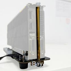 Adt-link M. 2 M Clé Nvme Carte Graphique Externe Stand W Adaptateur Pci-express Câble