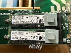 Amfeltec 4-slot Pcie M. 2 Ssd Macpro Carte Adaptateur, Bootable