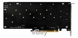 Asrock Ultra Quad M. 2card4x 4x M. 2ssd Carte Contrôleur Pci-e Pci-express 16