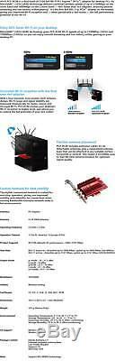 Asus Pce-ac88 Ac3100 Dual Band Pci Express Sans Fil Wifi Adaptateur Réseau Carte