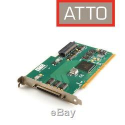 Atto Pci Express Ul3s Ultra 3 SCSI Card Adapter Hôte Für Mac U. A. 0086-pcbx-000