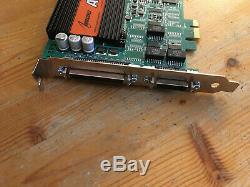 Audioscience Asi6614 Pcie Adaptateur Audio Numérique / Carte Sonore Diffusé