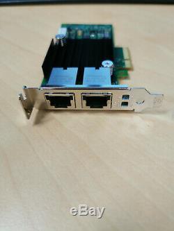 Base De 10g T Intel Ethernet Adaptateur Réseau Convergé X550-t2 Dell Pn 0wwn0