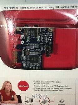 Belkin F5u504 Ver 1.0 Firewire 3port Firewire Adaptateur Pci Express Card