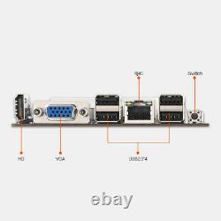 Btc-s37 Pro Mining Carte Mère 8 Pcie 16x Carte Graphique Sodimm Ddr3 Sata3.0 Adaptateur