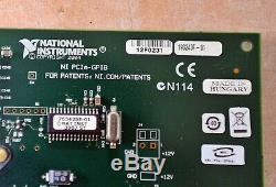 Carte Adaptateur National Instruments Interface Ni Pcie-gpib Navire Gratuit