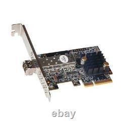 Carte D'adaptateur Ethernet Sonnet Solo10g Sfp+pcie 10 Gigabit, Compatible Thunderbolt