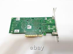 Carte D'adaptateur Réseau Pcie Dell Dual 10gbps Fh 0xyt17