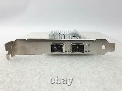 Carte D'adaptateur Réseau Pcie Dell Dual 10gbps Pleine Hauteur 0xyt17 -qty