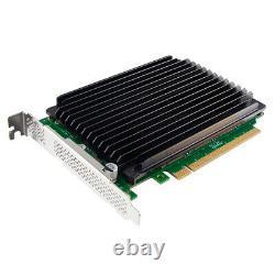 Carte D'adaptateur Ssd 4 Ports M. 2 (nvme) Pci Express X16 Pcie 3.0 Adaptateur Nv95nf