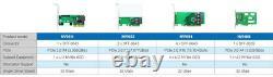 Carte D'adaptateur Ssd 4 Ports M. 2 (nvme), Pci Express X16, Pcie 3.0 (nv95nf)