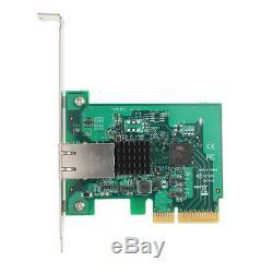 Carte Réseau Ethernet 10 Gigabit Ethernet Express Pcie Vers 10 Go Adaptateur De Port Lan Rj45