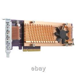 Cartes D'interface Qnap Qm2-4p-384/adaptateur Interne Pcie Qm2-4p-384 Qm2 Expansi