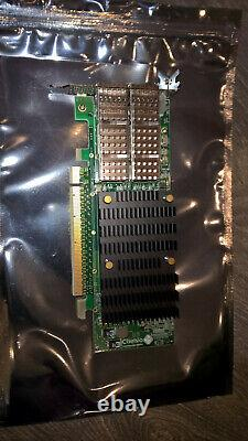 Chelsio T62100-lp-cr Dual Port 40/50 / 100gbe Low Profile Carte Réseau Adaptateur