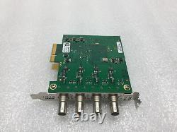 Dektec Atd-2144 R3 Quad Asi / Sdi Adaptateur De Sortie D'entrée Carte Pci-e & Tested Travail