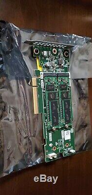 Dell 02mfvd 2mfvd Patron Carte Contrôleur Adaptateur Avec Deux 256g M. 2, Nvme, Pcie