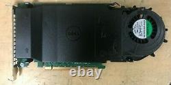 Dell 80g5n Dpwc300 Ultra-speed Drive Quad Nvme M. 2 Carte Pcie X16 (adaptateur Seulement)