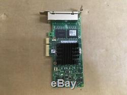Dell Adaptateur Serveur Intel I350-t4 Quad 1000 Base T Ethernet Card 540-bbdv