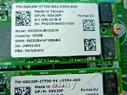 Dell Boss-s1 2x M. 2 Fentes Adaptateur De Stockage Optimisé Carte Avec 2x 120 Go Ssd Jv70f
