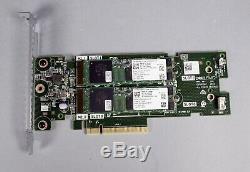 Dell Boss-s1 M. 2 Ssd Carte Adaptateur Pcie Avec 2x 240 Go Ssd