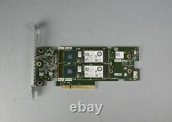 Dell Boss-s1 M. 2 Ssd Pcie Carte Adaptateur Avec 2x 480 Go Ssd