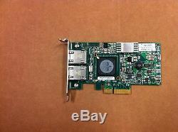 Dell Broadcom 5709 Double Port Pci-e Réseau Carte Adaptateur Dp / N # U671r