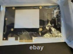 Dell Intel Ssd DC P3600 2tb 2.5'' Nvme Drive Brand Nouveau Avec Carte D'adaptateur Pcie