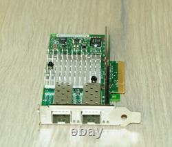 Dell Intel X520-da2 Network Card Dual Port 10 Go Base-x Pcie 942v6 1yrwty Taxinv