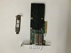 Dell J6vy6 0j6vy6 Chelsio T520-cr 10gbe 2 Ports Pcie Unified Fil Carte Adaptateur
