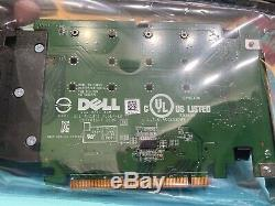 Dell Lecteur Ultra-speed quad Nvme M. 2 Pcie X16 Card (adaptateur Uniquement) Tout Neuf