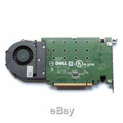 Dell Lecteur Ultra-speed quad Pcie X16 Adaptateur De Carte 4x Nvme M. 2 Ssd Support Ahci