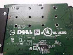 Dell Lecteur Ultra-speed quad Pcie X16 Adaptateur De Carte Jusqu'à 4x Nvme M. 2 Ssd Support