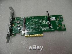 Dell M. 2 Ssd Nvme Pcie X2 Carte Adaptateur Stockage Solide À Profil Élevé 5t20h