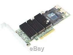 Dell Perc H710 Adaptateur 0vm02c Carte Contrôleur Raid Pci-e Sas 6 Gbp / S Avec Batterie