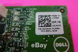 Dell Perc H740p Raid 8 Go Contrôleur Pcie Carte Adaptateur Withbattery 3jh35
